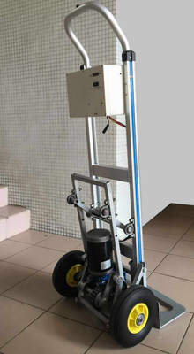 120kg Double-wheel Stair Climbing Trolley with Aluminium Alloy Frame