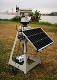 1W Automated Solar Powered Laser Bird Repellent with Wired Keyboard Control