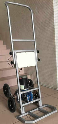 80kg Foldable Four-wheel Stair Climbing Trolley