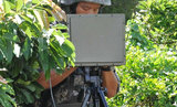 1km One Man Portable Ground Surveillance Radar